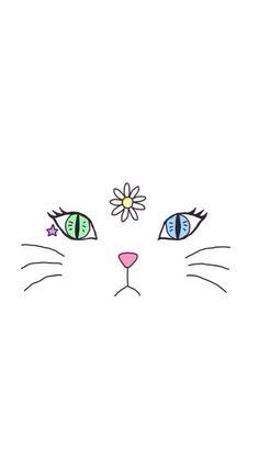 Kitty iPhone wallpaper