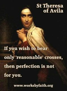Teresa of Avila March 2015 birthday 500 years . Catholic Quotes, Catholic Prayers, Catholic Saints, Religious Quotes, Spiritual Quotes, Roman Catholic, Catholic School, St Theresa Of Avila, Les Religions