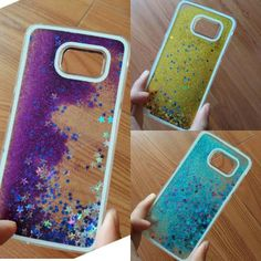 Liquid Glitter Samsung Case Galaxy S4 S5 S6 Note 3, 4 Case