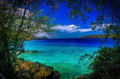 Coki Beach, St. Thomas, US Virgin Islands.