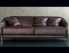 Nella Vetrina Rugiano Paris Upholstered Grey Suede Sofa