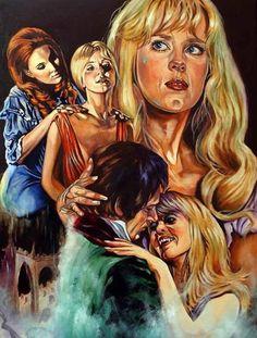 Lust For A Vampire illustration by Rick Melton