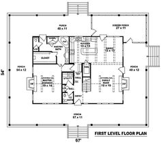 This is the floor plan...omit the stairs...one story only for this girl and her man....will make the pantry larger..omit the door in family room next to fireplace...add window there...