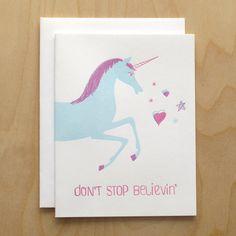 don't stopppp believing! #unicorns