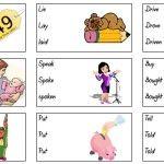 Irregular verbs straightforward - Games to learn English