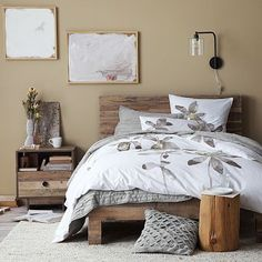 Love this West Elm bed!