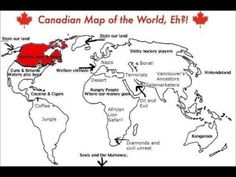 18 best project north images on pinterest canada cards and maps canadas view of the world if you can take a joke gumiabroncs Choice Image