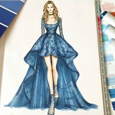 #drawing #sketch #fashion #dress #art #fashiondesign #fashionblogger #fashionart #dessin #instafashion #in #style #fashionsketches #sketches #drawings #fashionillustration #dress #illustration #instagood #artwork #hautecouture #haute #couture #designer #fashionweek #figurine #mode #croquis #aquarelle #colors #sexy #stylish #look #couleurs #model #vogue #details #tissu #artist #show #accessoires #Shemozza #bee