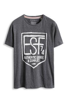 Davide Martini for Esprit - Baumwoll Jersey Print T-Shirt im Online Shop kaufen