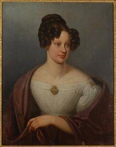 S.A. Leopoldina de Habsburgo-Lorena, Imperatriz do Brasil 1824 - HIM Empress Leopoldine of Brazil, 1824