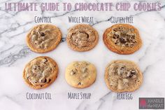 The Ultimate Guide to Chocolate Chip Cookies Part 3 features experiments with dietary restrictions and various ingredient substitutions such as gluten-free.