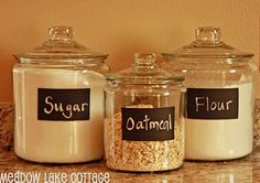 Flour Jars