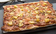 Receta de Pizza picante de pavo y piña - Karlos Arguiñano