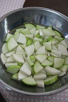 Cucumber, Zucchini, Baking, Vegetables, Recipes, Korean, Food, Korean Language, Bakken