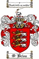 O'brien Coat of Arms / O'brien Family Crest  www.4crests.com #coatofarms #familycrest #familycrests #coatsofarms #heraldry #coat #of #arms #family #genealogy #family reunion #names #reunion #history #medieval #code of arms #family shield #shield #crest #clan #badge  #coats of arms #geneology #tattoo #ancestry #coat of arms