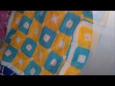 ▶ CROCHET GRANNY SUARE BLANKET - YouTube