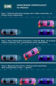 Parkowanie równoległe. Dla części kierowców największe wyzwanie! Niepotrzebnie, zobaczcie jakie to proste