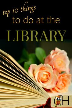 Try one of these fun things to do at the library the next time cabin fever hits your homeschool and you can't stay home another minute.