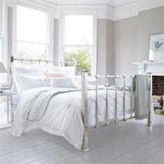 White Minimalist Metal Bed Frame Minimalist Bedroom Design Ideas With Metal  Bedu2026