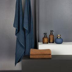 Lotus Bathroom Accessories by Mette Ditmer Home Accessories Stores, Bathroom Accessories, Lotus, Luxury Towels, Bronze, Beautiful Bathrooms, Bathroom Inspiration, Bathroom Ideas, Bohemian Decor