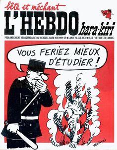 L'Hebdo Hara Kiri - # 52 - 26 Janvier 1970 - Couverture : Wolinski