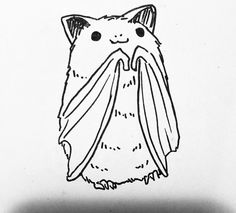 Little bat illustration Desenhos Halloween, Posca Art, Illustration Art, Illustrations, Halloween Illustration, Cute Bat, Art Graphique, Cute Drawings, Dark Art