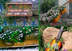 15 INCREDIBLE RECYCLED DECORATIONS FOR YOUR GARDEN OR YOUR PATIO