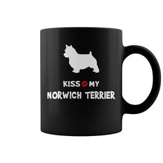 Awesome Norwich Terrier Dogs Lovers Tee Shirts Gift for you or your family your friend:   Kiss my Norwich Terrier  Tee Shirts T-Shirts