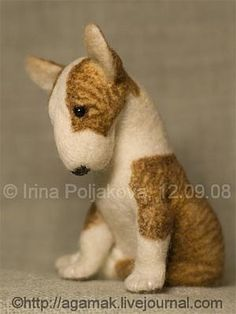 Gallery.ru / Собакин сын (другой ракурс) - Мои работы, валяные игрушки - Agamak