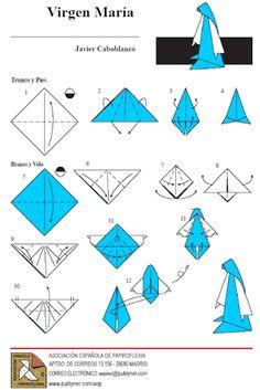 Image result for como hacer un belén en origami