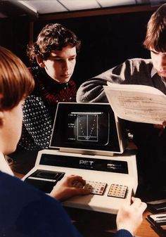 1977 - Washington, UK - A Commodore PET (Personal Electronic Transactor) personal computer