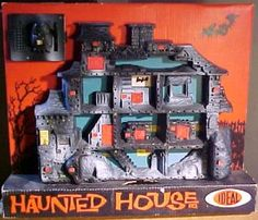Ideal's Haunted House Game: if you find one with the owl-doorbell working snatch it up!