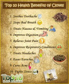 Do check these Top 10 Health Benefits of Cloves. The health benefits of cloves as well as clove oil can be attributed to their antioxidant antifungal antibacterial aphrodisiac antiviral antiseptic anti-inflammatory and analgesic properties. Matcha Benefits, Coconut Health Benefits, Fruit Benefits, Cloves Benefits, Tomato Nutrition, Healthy Oils, Stay Healthy, Home Remedies, Aromatherapy
