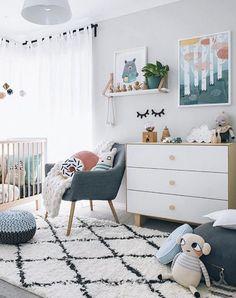 Mid century kid room