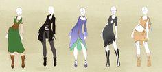 :: Commission Outfit 07 :: by VioletKy.deviantart.com on @DeviantArt