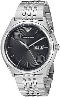 Emporio Armani Mens AR1977 Dress Silver Watch    Want to know more, click on b8d34bb409