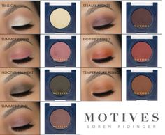 In love with #MotivesCosmetics 7 New Spring/Summer 2016 pressed eye shadow colors    Must see at www.motivescosmetics.com/bunky16