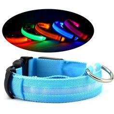 Glowing Pet Collar Dog USB Charge Light Night Safety Flashing in Dark  #gears #life #outdoor #daily #gadget #buy #diy #dig #dailylife #live