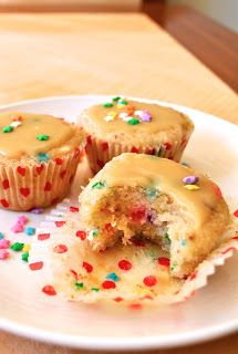 Vegan Fairy Cakes with Caramel Frosting  maybe for Sadie's birthday without caramel frosting?
