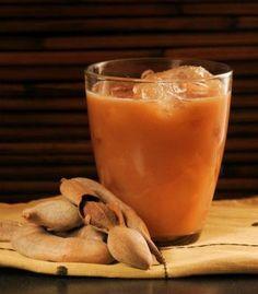 Rico jugo de tamarindo