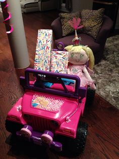 B-day presents for toddler girl