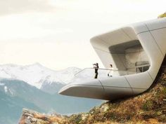 Zaha Hadid Unveils Mountaintop Museum for Reinhold Messner in the Italian Alps