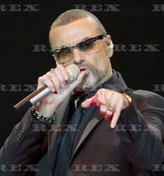 George Michael in concert at the O2 World Arena, Hamburg, Germany - 18 Oct 2011