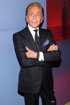 Valentino Garavani wearing his Shamballa Bracelets
