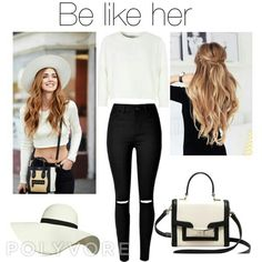 Be like her!  You can find my polyvore account here: https://edsheerancute.polyvore.com  #polyvore #outfit #fashion #star #beautiful