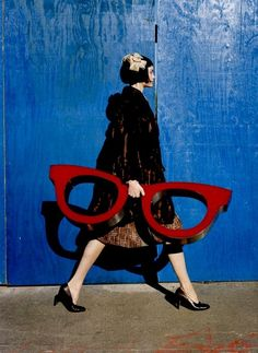 Framed Photo of Gemma Ward by Tim Walker for Vogue Nippon