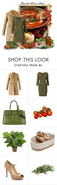 """""""Food Challenge 6 -  Soup"""" by miradawnp ❤ liked on Polyvore featuring MaxMara, Ma Poche Droite, Nearly Natural, L'Atelier du Vin, Coach and Ethan Allen"""