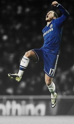 My favorite soccer player > Chelsea's Eden Hazard