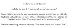 This was the best Sizzy in the whole entire book. I was dying of laughter!