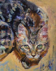 "Daily Paintworks - ""Murka"" - Original Fine Art for Sale - © Dimitriy Gritsenko"
